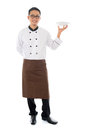 Asian male chef Royalty Free Stock Photo