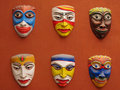 Asian masks Royalty Free Stock Photography