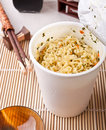 Asian meal with ramen noodles Stock Photography