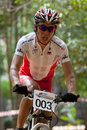 Asian Mountain Bike Championship in Malaysia Stock Photos