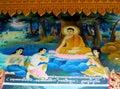 Asian mythological buddhist picture