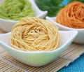 Asian noodles Stock Photo