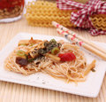 Asian noodles Royalty Free Stock Photography