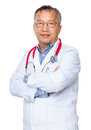 Asian old doctor Royalty Free Stock Photo
