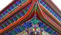 Asian pagoda architecture Royalty Free Stock Photo