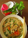 Asian Pho Noudle Soup Royalty Free Stock Photo
