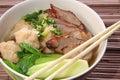 Asian soup Royalty Free Stock Photos