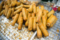 Asian spring rolls Royalty Free Stock Photo