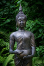 Asian statue of Buddha Royalty Free Stock Photo
