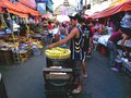 Asian street vendor selling steamed corn on a cob in quiapo manila philippines in asia photo an market Stock Photos
