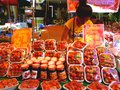 Asian street vendor selling strawberries in quiapo manila philippines in asia a photo an a market Stock Photos