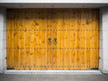 Asian style wooden garage Royalty Free Stock Photo
