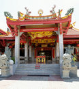 Asian temple entrance Royalty Free Stock Photography