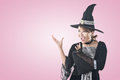 Asian witch woman Royalty Free Stock Photo