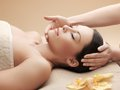 Asian woman in spa health and beauty resort and relaxation concept salon getting massage Royalty Free Stock Photo
