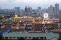 Asiatique bangkok Obrazy Royalty Free