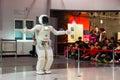 Asimo, the humanoid robot Royalty Free Stock Photo