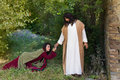 Asking for forgiveness and healing Royalty Free Stock Photo