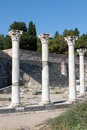 Asklepieion, ancient town of Kos Royalty Free Stock Photo