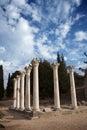 Asklepieion, Hippocrates medical school, Greece Royalty Free Stock Photo
