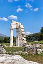 Asklepios sanctuary at epidaurus of Royalty Free Stock Photography