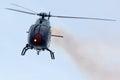 Aspa patrol aircraft x eurocopter ec b colibrí festa al cel sky party air show mataro spain september Royalty Free Stock Photo