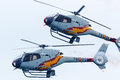 Aspa patrouille flugzeuge x eurocopter ec b colibrã Stockfotos