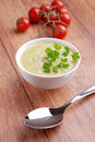 Asparagus soup Royalty Free Stock Photo