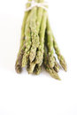 Asparagus spears with shallow depth of field Stock Photo