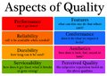 Aspects quality Royalty Free Stock Photo