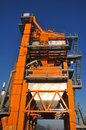 Asphalt plant Royalty Free Stock Photos
