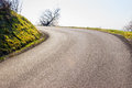 Asphalt Road in the Country Royalty Free Stock Photo