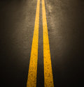 Asphalt road surface Royalty Free Stock Photo