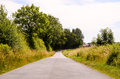 Asphalt Road to Infinity Royalty Free Stock Photo