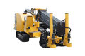 Asphalt spreading machine under the white background Royalty Free Stock Images