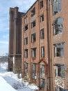 Assan Mill ruins Royalty Free Stock Image