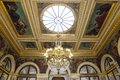 Assemblee nationale hotel de lassay paris france – – september interiors and architectural details of the home of the french Royalty Free Stock Photos