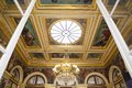 Assemblee nationale hotel de lassay paris france – – september interiors and architectural details of the home of the french Royalty Free Stock Image