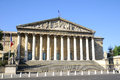 Assemblee nationale palais bourbon the french parliament Royalty Free Stock Photos