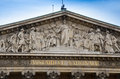 Assemblee nationale paris national assembly in france with a blue sky Stock Photo