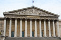 Assemblee nationale paris national assembly in france with a blue sky Stock Image