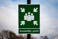 Assembly Point Royalty Free Stock Photo