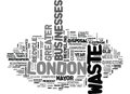 Asset Disposal In Greater London Word Cloud