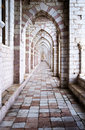 Assisi: the Franciscan monastery Royalty Free Stock Photo