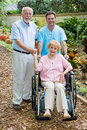 Assisted Living Royalty Free Stock Photography