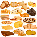 Assorted Biscuit and Cookies Food Collection