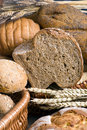 Assorted Bread with wheat 2 Royalty Free Stock Photography