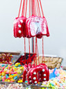 Assorted candy ginger bread Mixed colorful Bonbon in a market Royalty Free Stock Photo