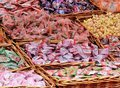 Assorted Chinese Candies And Tidbits Stock Image