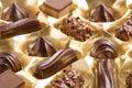 Assorted chocolates Royalty Free Stock Photo